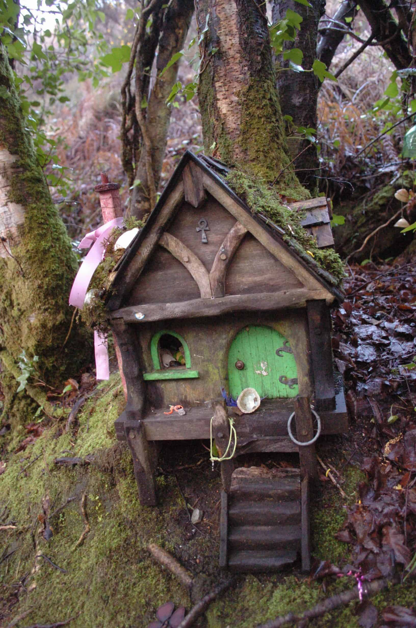 Fairy house in Rineen Woods