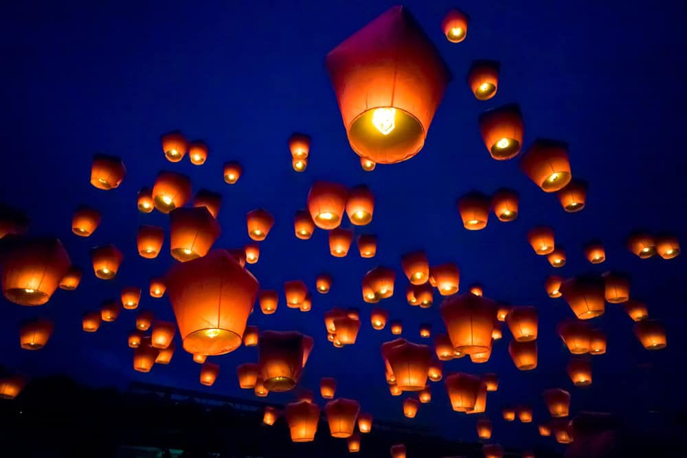 Rosscarbery lantern display