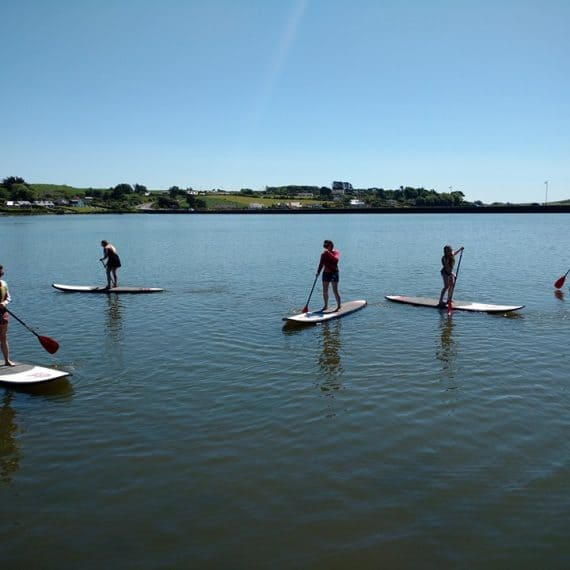 Stand up paddling in Rosscarbery
